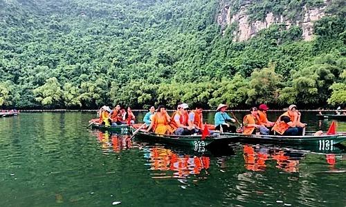 Trang An eco-tourism area