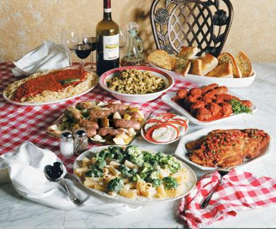 Italian Food On My Table
