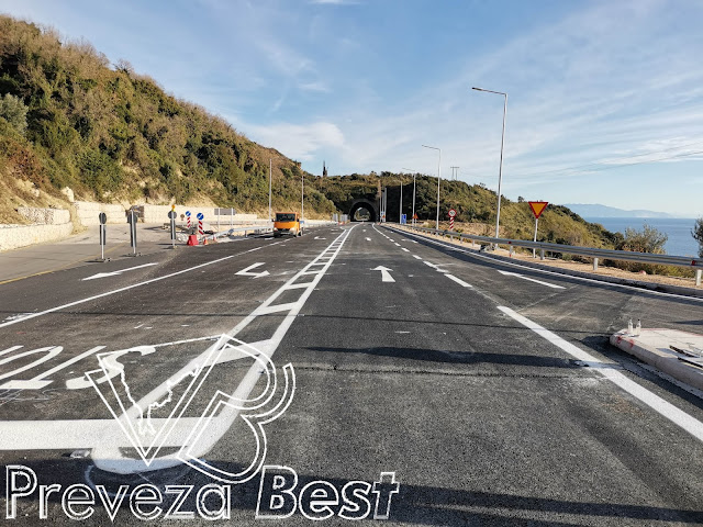 Πρέβεζα: Παραδόθηκε πριν από λίγο στην κυκλοφορία ο ισόπεδο κόμβος του Βράχου- Φώτο