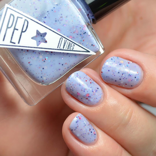 lavender blue crelly nail polish