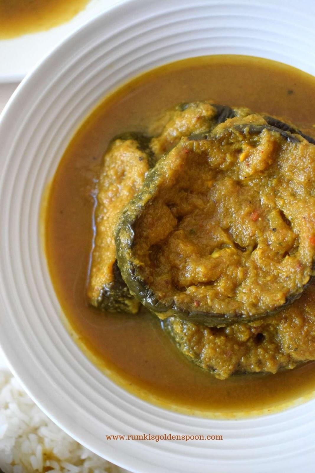 Baingan ki sabji, Baingan ki sabzi, eggplant vegetable recipes, aubergine curry recipes, brinjal curry, Indian curry recipes, Indian recipe, Vegetarian recipe, Vegan recipe, Quick and Easy recipe, Rumki's Golden Spoon