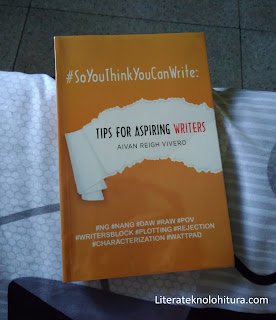 soyouthinkyoucanwrite by aivan reigh vivero front cover