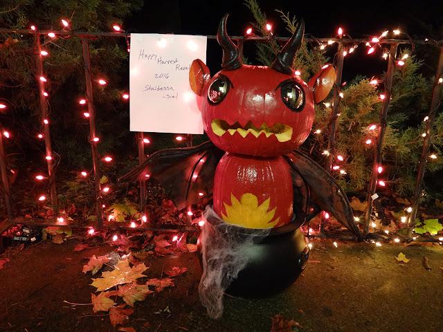 Devil's Cauldron Pumpkin