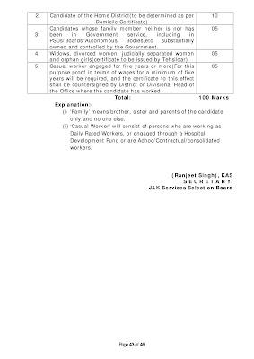 educational qualification class iv jkssb 2020