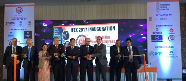 Photo caption Pic 1 - Inaugural ceremony of IFEX 2017 at Kolkata