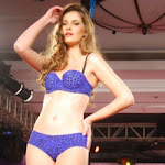 Hot Models Ramp Walk in the New Animal Print Collection by Triumph