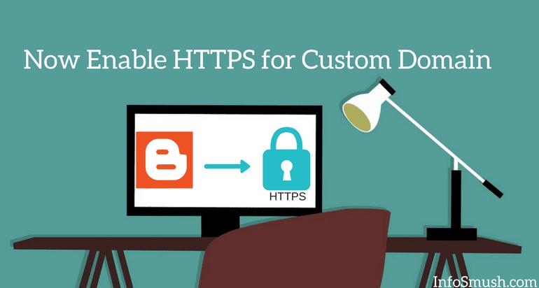 https for custom domain