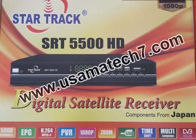 STAR TRACK SRT-5500NEW HD PLUS TEN SPORTS OK NEW SOFTWARE
