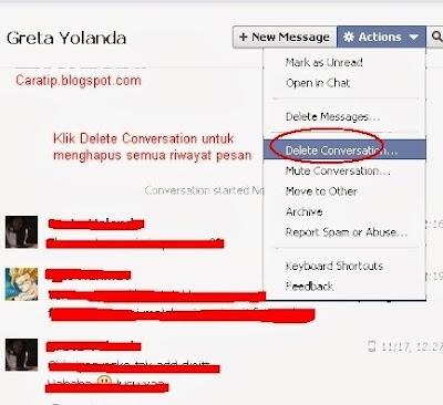 Tips menghapus Riwayat Facebook Full Baru