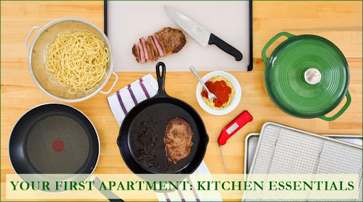 Your First Apartment: Kitchen Essentials