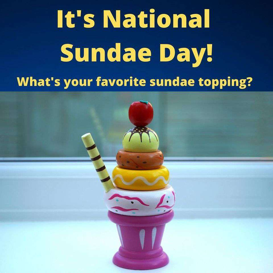 National Sundae Day Wishes For Facebook