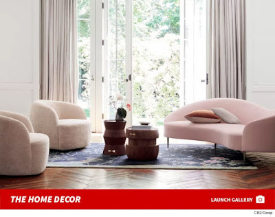 GWYNETH PALTROW LOUNGE LIKE ME ... Goop Furniture's Here!!!