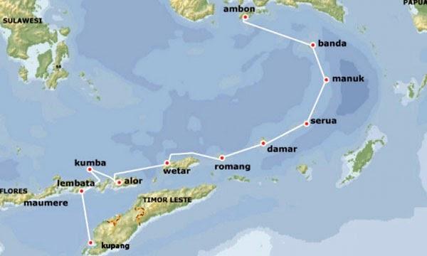 on kumbas of way map national park sumatra