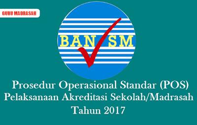 POS Pelaksanaan Akreditasi Sekolah/Madrasah Tahun 2017