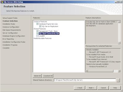 Installasi SQL Server 2012