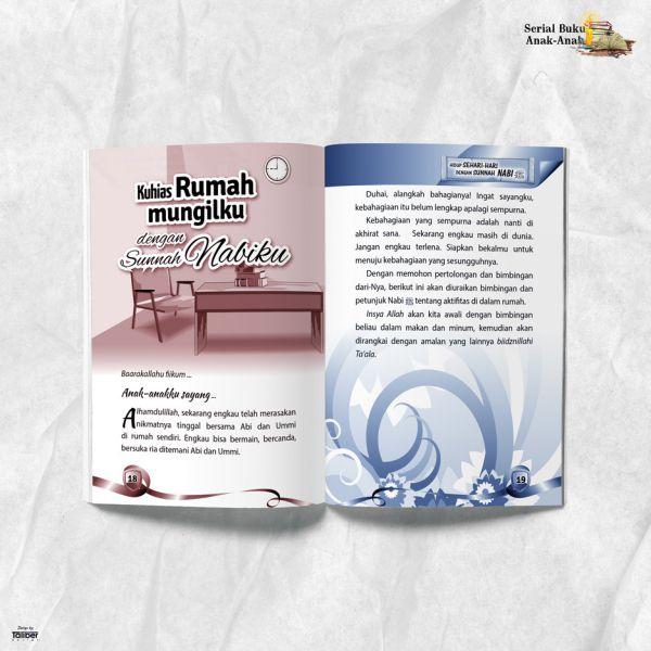 Buku Rumahku Indah dengan Sunnah Nabawiyyah Al Humaira