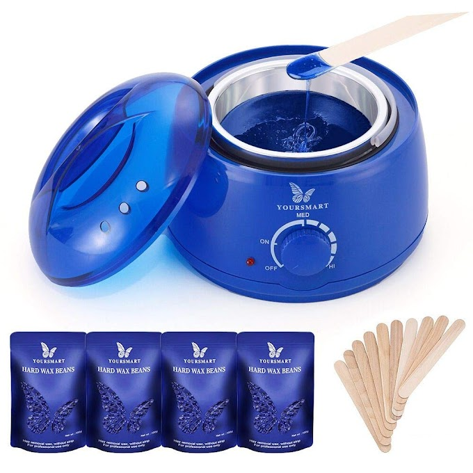AMAZON - 60%off Wax Warmer Hair Removal Waxing Kit Till July 31st