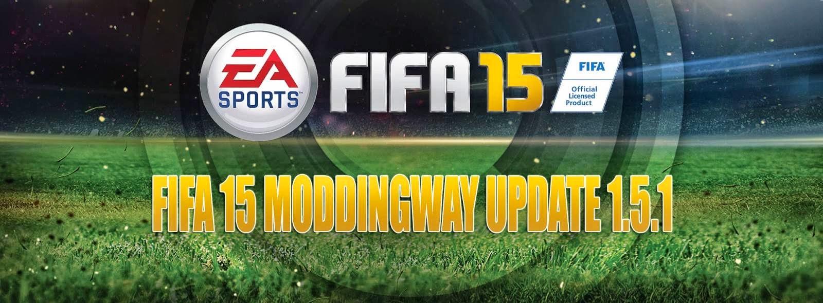 FIFA 15 + UPDATE 4 + krack V2 + MODDINGWAY 1 5 1 ~ ID System