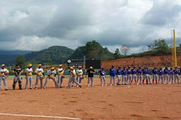 Pertandingan Softbol Putra Lampung dan Sultra Buka Event PON XX Papua