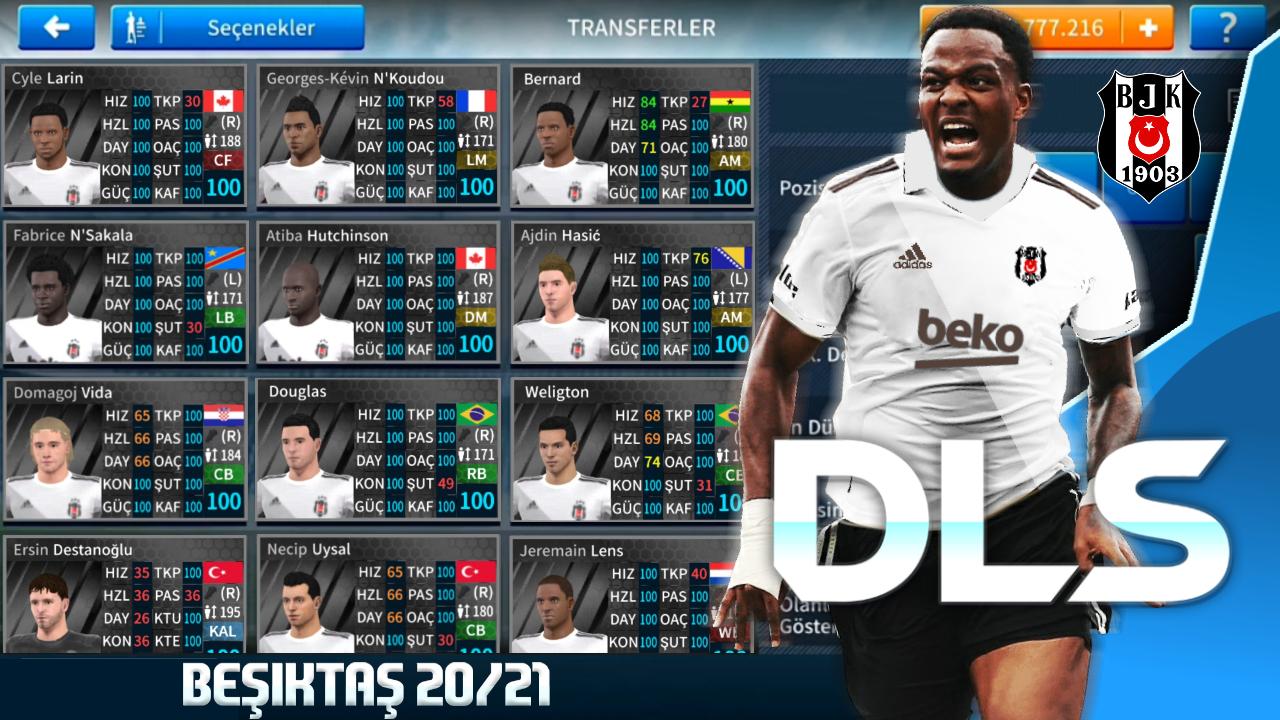 Dream League Soccer 2021 Beşiktaş Modu - En Güncel Transfer
