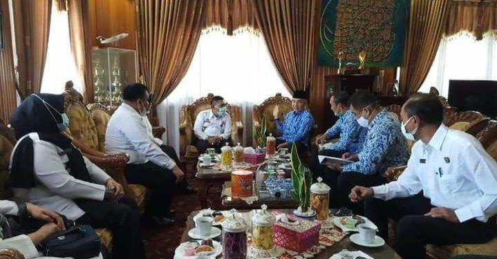 Pemkab Kerinci Sambut Hangat Kunjungan Silaturahmi Kakanwil Kemenkumham Jambi