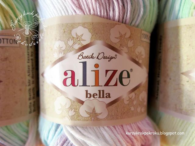 Recenzja włóczki Alize Bella Batik - idealna bawełna dla dzieci :)