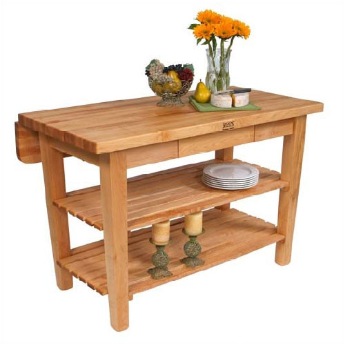 Kitchen Prep Table Wood | Best Home Decorating Ideas