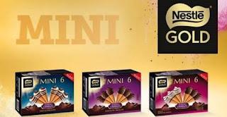 Prueba los miniconos de Nestlé Gold