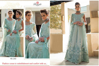 Ramsha Mushq Bridal Pakistani Suits catalog wholesaler