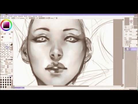 How To Do Vector Digital Art Paint Tool Sai