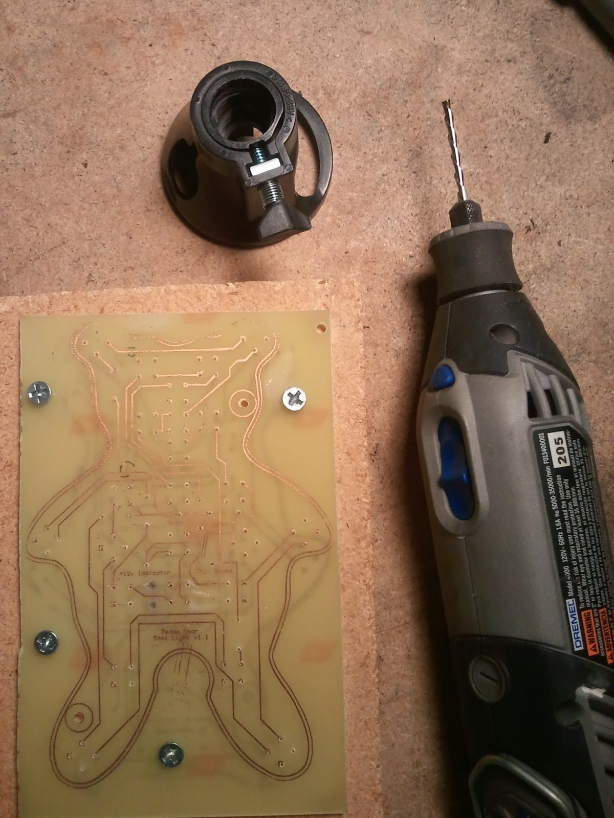 The Inebriated Engineer: The PCB Part 4: Drilling