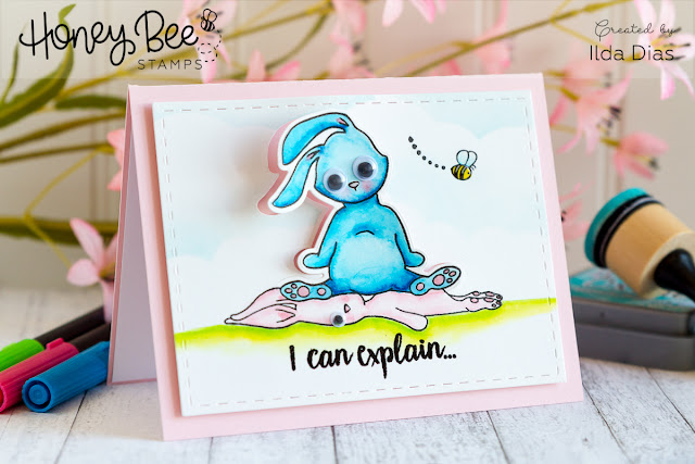 I Can Explain... Funny/Apology Card ft. Honey Bee Stamps