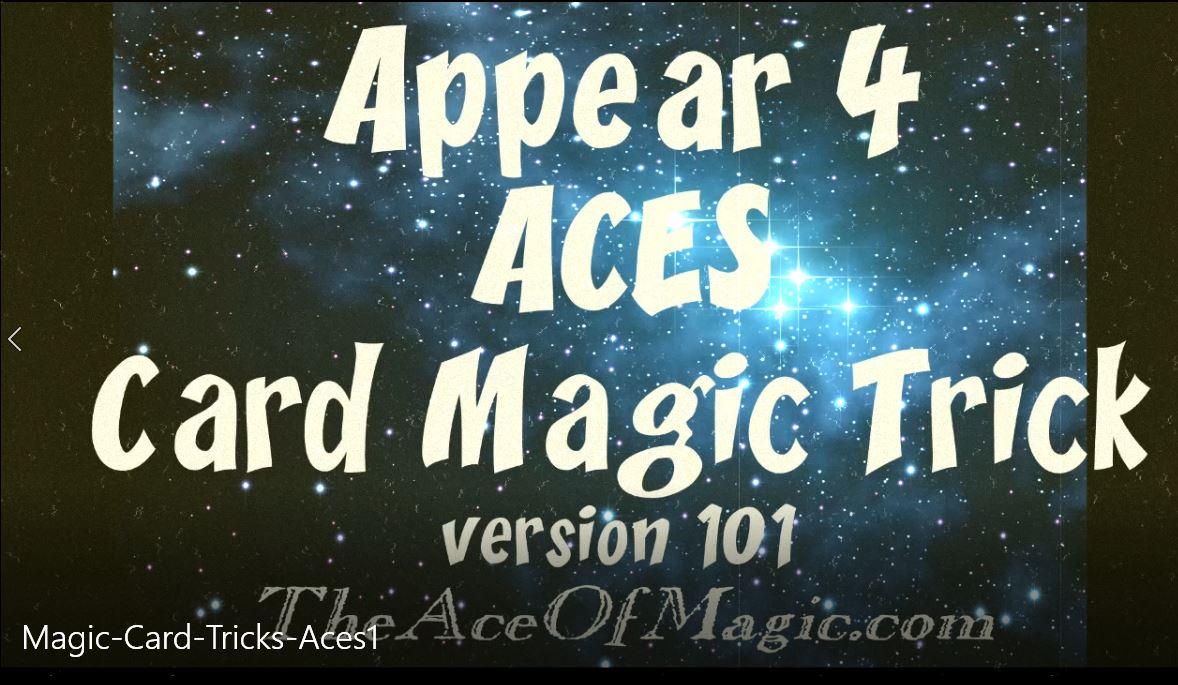 Video Magic Card Tricks
