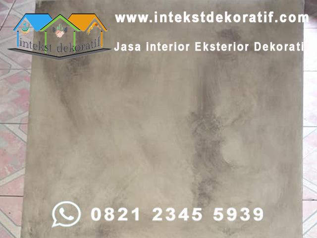 Wash Concrete Motif Semen Expose