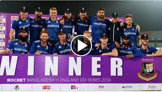 Bangladesh vs England 3rd ODI 2016 Highlights