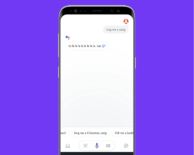 Make Google Assistant Sing A Song