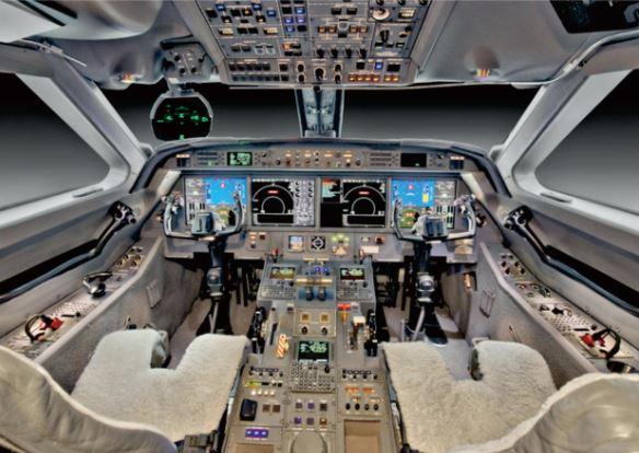 Gulfstream G450 cockpit