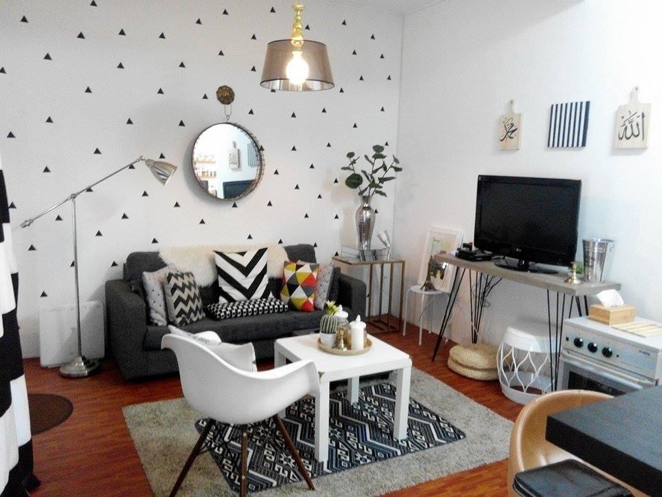 Bole Dikatakan Nordic Style Sikit Scandinavian Minimalis Ruang Tamu