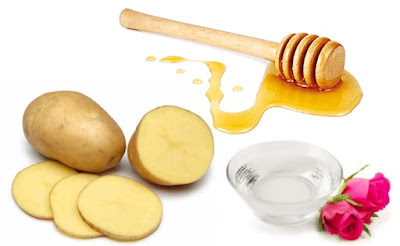 Potato for fair skin