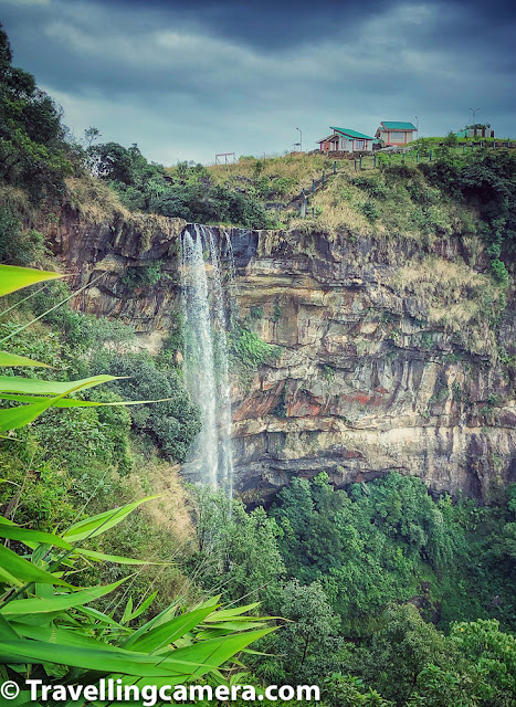 There are spots marked for nice views of the canyons around the Eco Park of Cherrapunji in Meghalaya. The views from Eco Park are simply breathtaking & place is pretty well paved for good walking experience. Right from the other side of the park, one can see the amazing views of the plains of Bangladesh. Eco Park has a point which is  the originating point of the popular Nohsngithiang Falls, we mentioned above in same blog.
