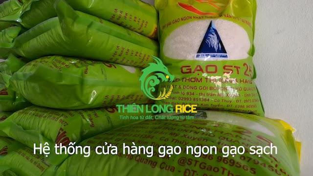 Hệ thống cửa hàng gạo ngon gạo sạch