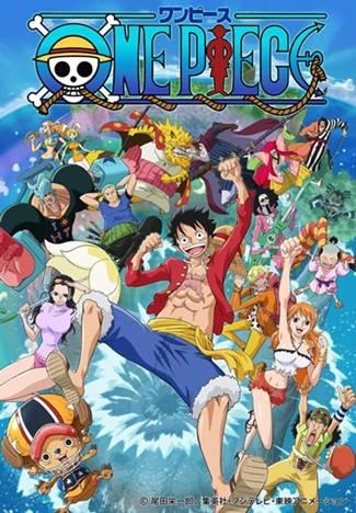 arte del anime de One Piece