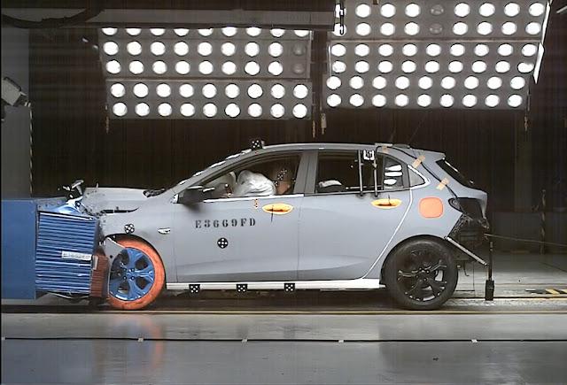 Novo Onix Hatch 2020 ganha 5 estrelas no Latin NCAP