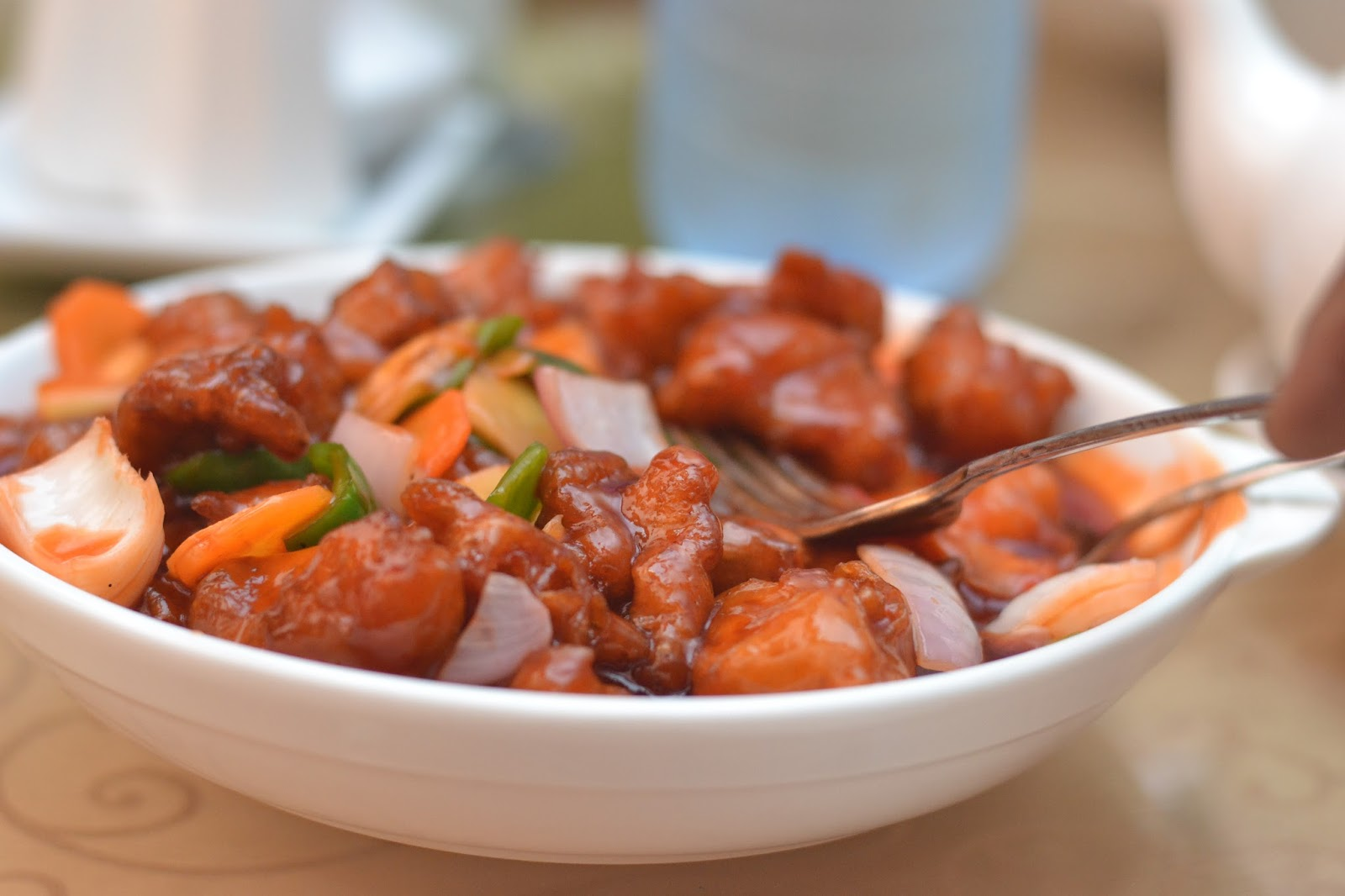 Sweet & Sour Chicken with Veg