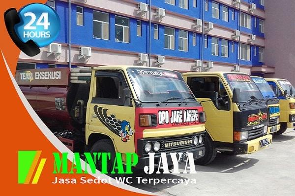 Jasa Sedot Tinja Surabaya Area Pegirian Semampir Harga Termurah