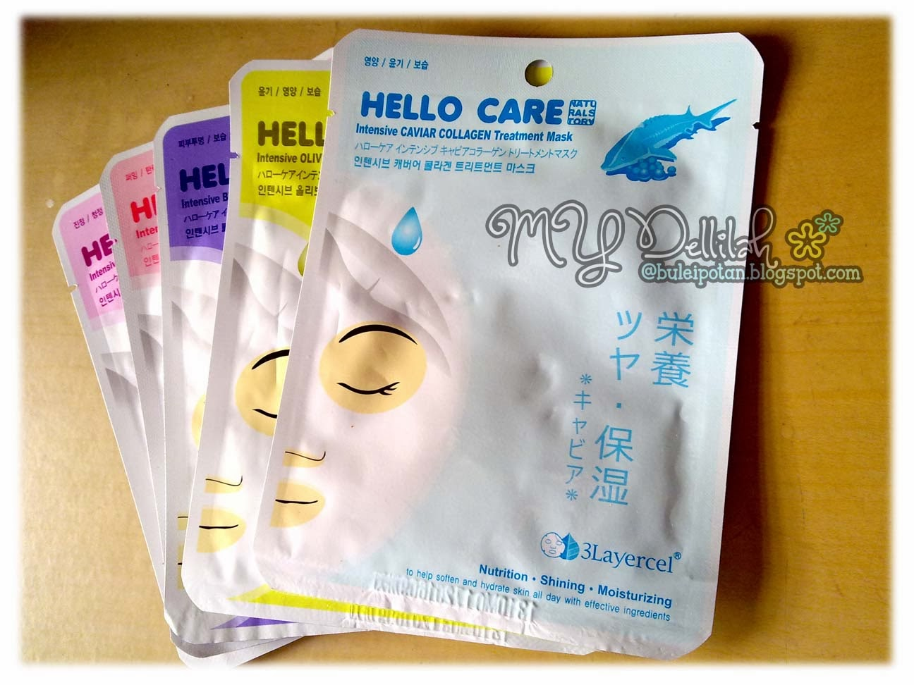 KOREAN MASK SHEET HELLO CARE