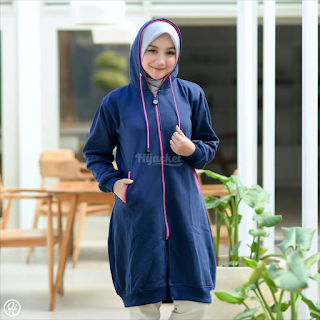 Hijacket Basic Navy x PINK HJ-20