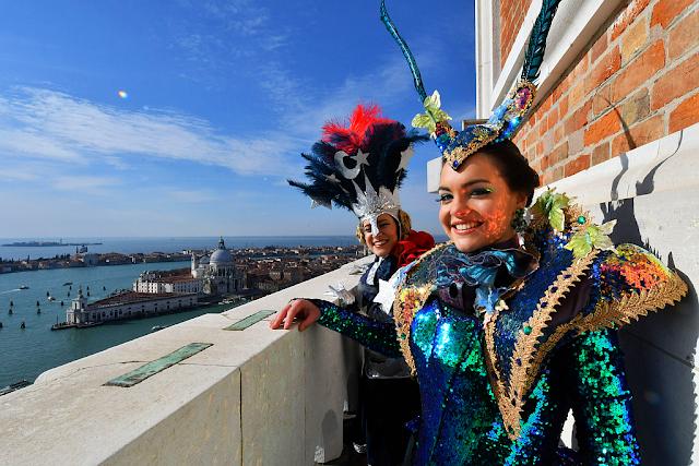 Úžasná podívaná na dvojtý Let anděla na Benátském karnevalu, benátský karneval 2019, zažijte benátky jako místní, benátky průvodce, kam v benátkách, co vidět v benátkách, benátky památky, benátky historie, kde se najíst v benátkách,
