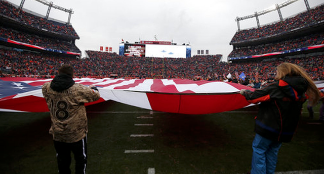 AMVETS says NFL censored its ad against flag protests