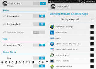 Aplikasi Flash Alerts Android Gratis